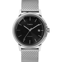 Timex Marlin Automatic Leather Strap Watch